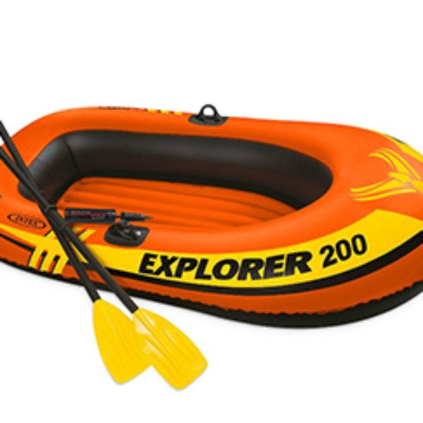 Intex Explorer 200 2-Person Boat Set Just $8.23