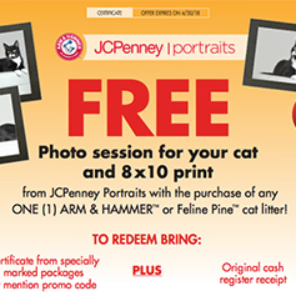JCPenney Portraits: Free Photo Session For Your Cat - Oh Yes