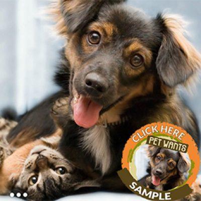 Free Pet Wants Food Samples