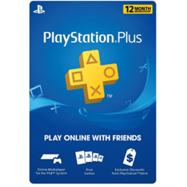 12-Month PlayStation Plus Just $39.99 (Reg $60)