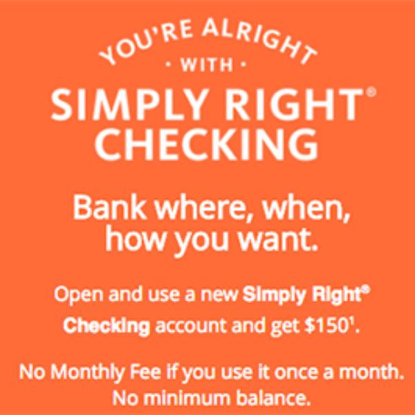 Santander Bank: Free $150 W/ New Account