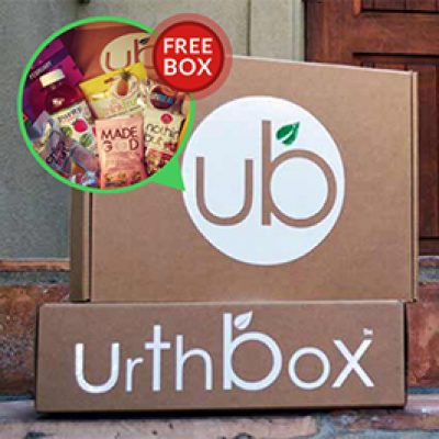 Urthbox: BOGO Free Snack Boxes