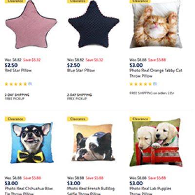 Walmart Clearance Pillows