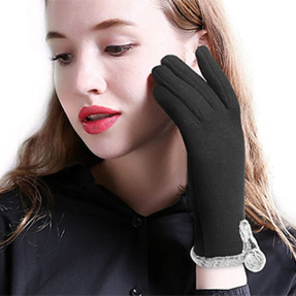 Women's Fleece Lined Touch Screen Gloves Just $5.99