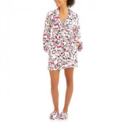 Body Candy Luxe Plush Sleepwear Robe & Slipper Sets Just $6.00