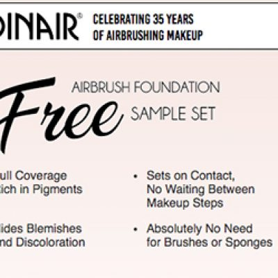 Free Airbrush Foundation Sample Set