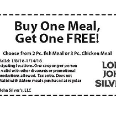 Long John Silver's: BOGO Free Meal