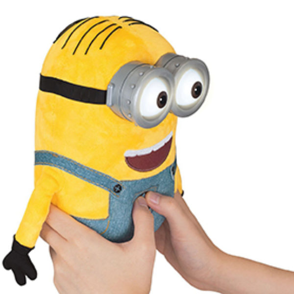 Despicable Me Minion Dave Plush W/ Pop-Out Eyes Just $10.11