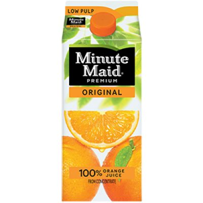 Minute Maid Orange Juice Coupon