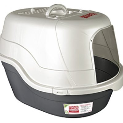 Nature's Miracle Oval Hooded Litter Box Just $17.91