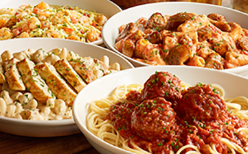 Olive garden 15 off to go orders oh yes it 39 s free for Olive garden cucina mia topping grilled chicken