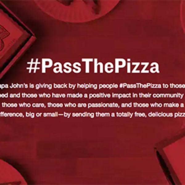 Papa John's: Pass The Free Pizza