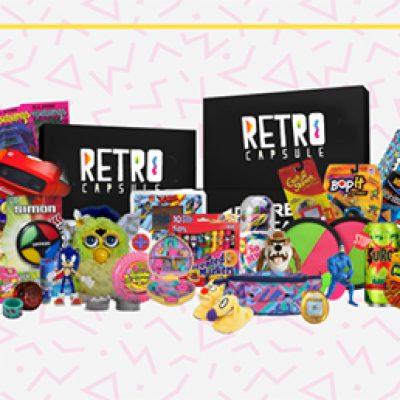 Earn Free Retro Toys