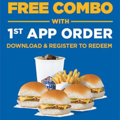 White Castle: Free Combo W/ App Download