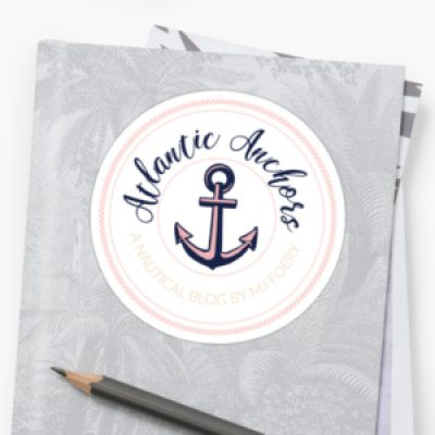 Free Atlantic Anchors Stickers