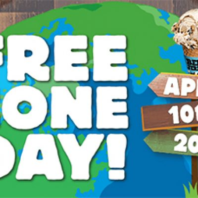 Ben & Jerry's: Free Cone Day - April 10th