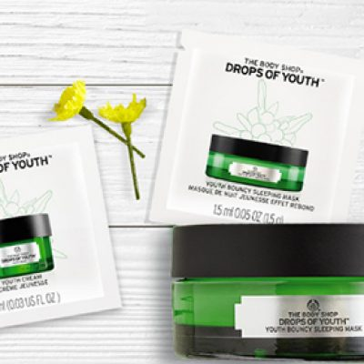 Body Shop: Free Youth Cream & Mask Samples
