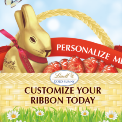 Lindt: Free Custom Ribbon