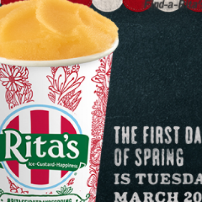 Rita's: Free Italian Ice - March 20th