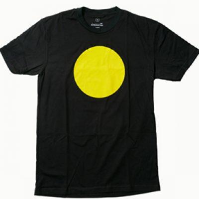 Free Yellow Circles T-Shirt & Stickers