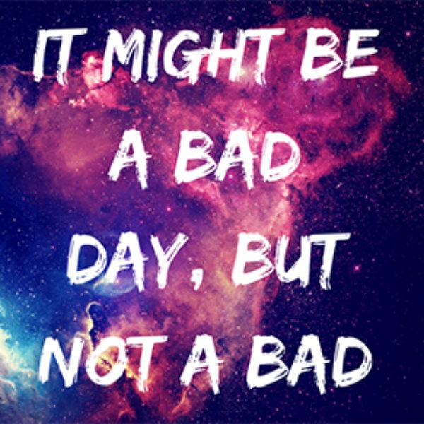 Free Bad Day Sticker
