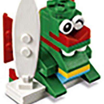 LEGO: Free Surfer Dragon Model Build