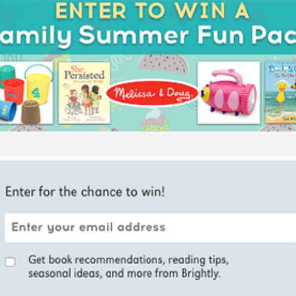 Win a Melissa & Doug Family Fun Pack