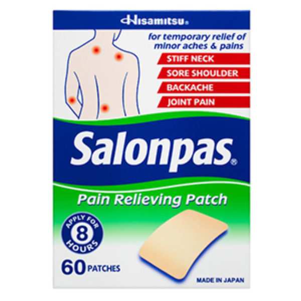 Free Salonpas Patch Samples