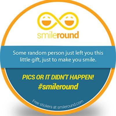 Free SmileRound Sticker
