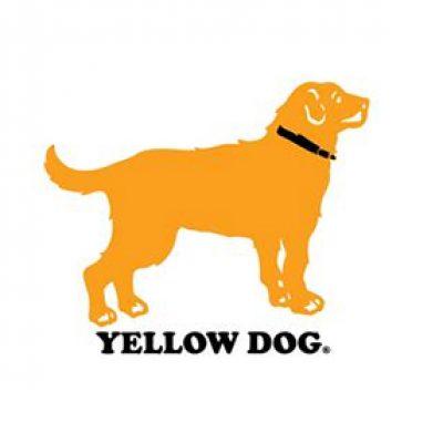 Free Yellow Dog Sticker