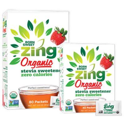 Free Zing Organic Stevia Samples