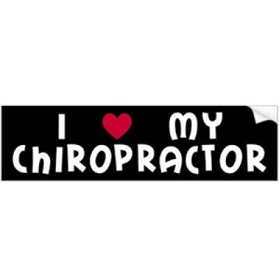 Free Chiropractor Bumper Sticker
