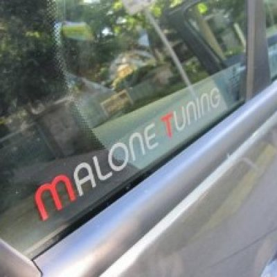 Free Malone Tuning Sticker