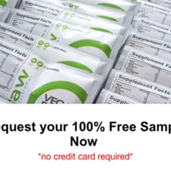 Free Raw Nutritional Samples