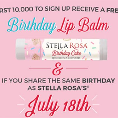 Free Stella Rosa Lip Balm - First 10,000