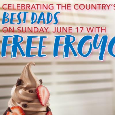 TCBY: Free Yogurt - Father's Day