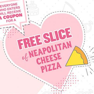 Villa: Free Pizza Slice