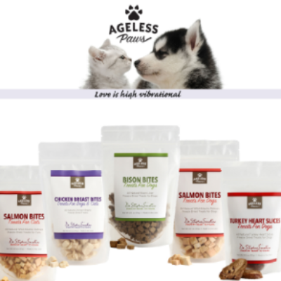 Free Ageless Paws Pet Treats Samples