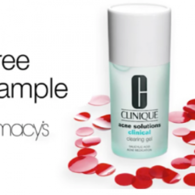 Free Clinique Acne Solutions Sample