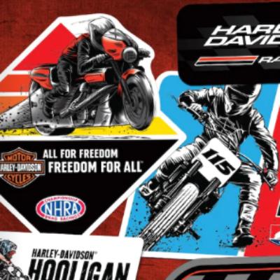 Free Harley-Davidson Stickers