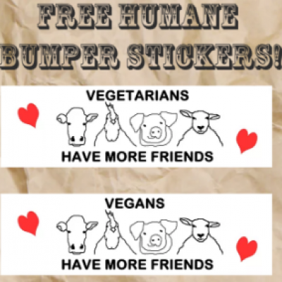 Free Humane Bumper Stickers