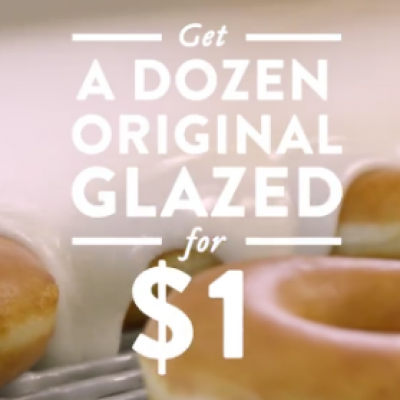 Krispy Kreme: BOGO For $1 Dozens - July 27