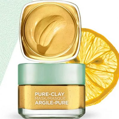 Free L'Oreal Pure-Clay Mask Samples
