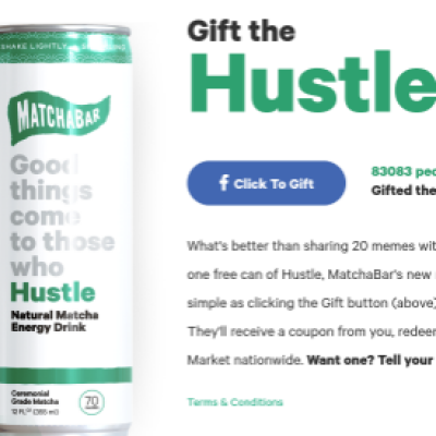 Free MachBar Hustle Energy Drink