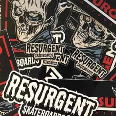 Free Resurgent Skateboards Stickers