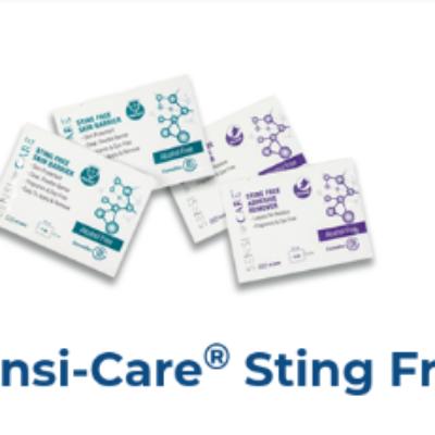 Free Sensi-Care Sting Free Wipes