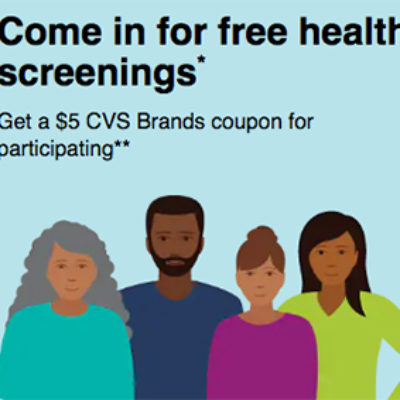 Free CVS Health Screenings