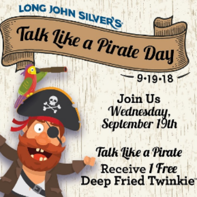 LJS Pirate Day - Free Fish & Fry
