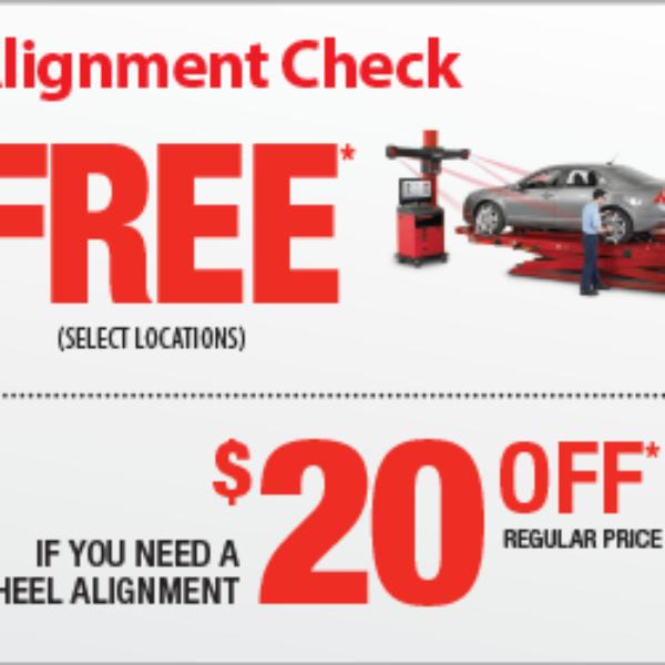 Mr. Tire: Free Alignment Check