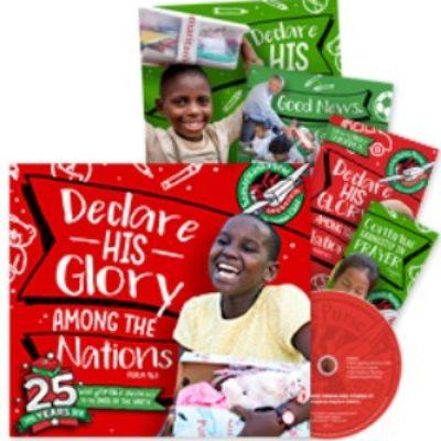 Free Operation Christmas Child Promo Kit